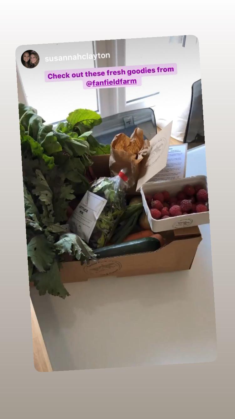 Fanfield Farm Veg Box Customer