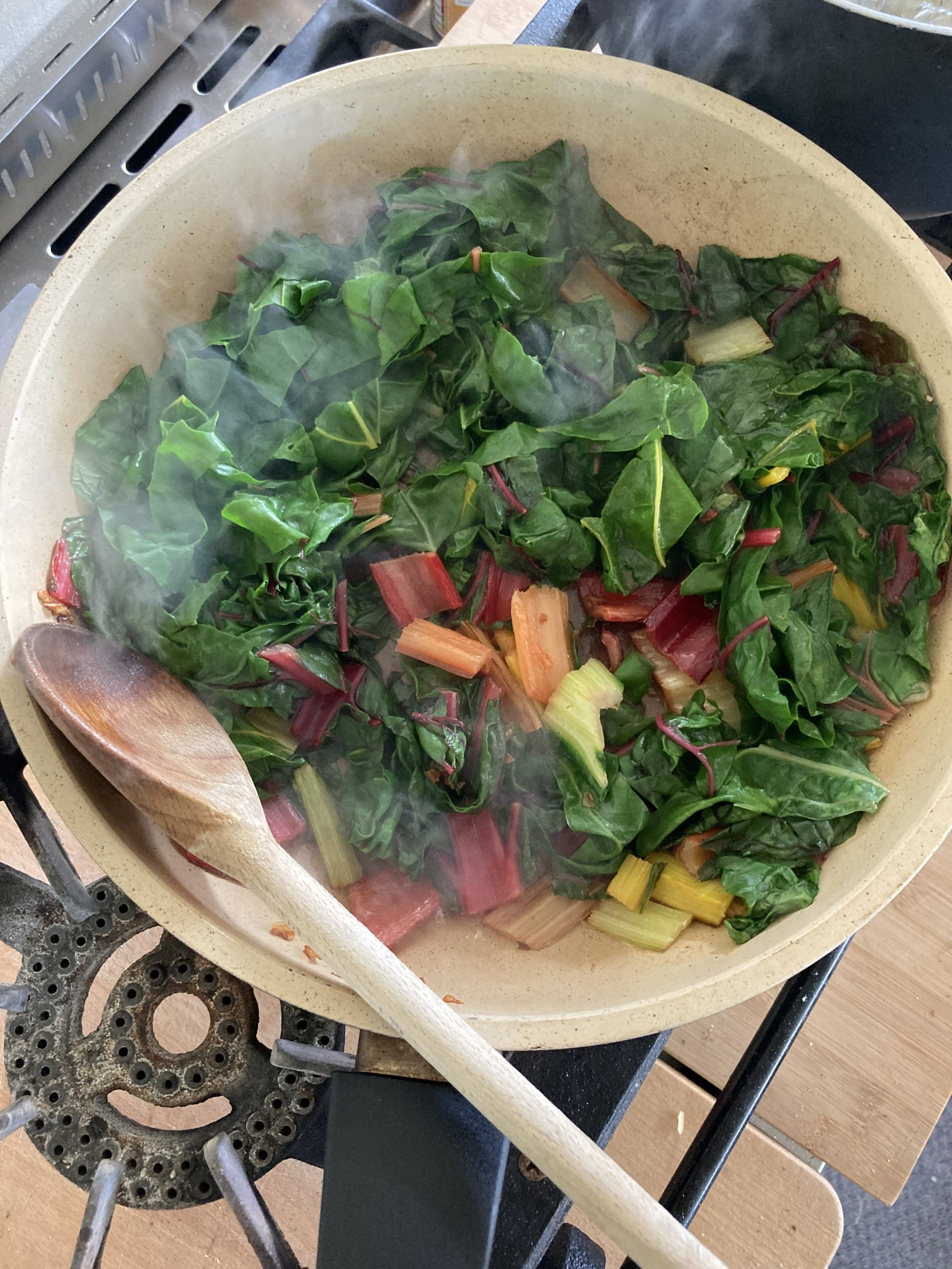 Rainbow Chard Cooked