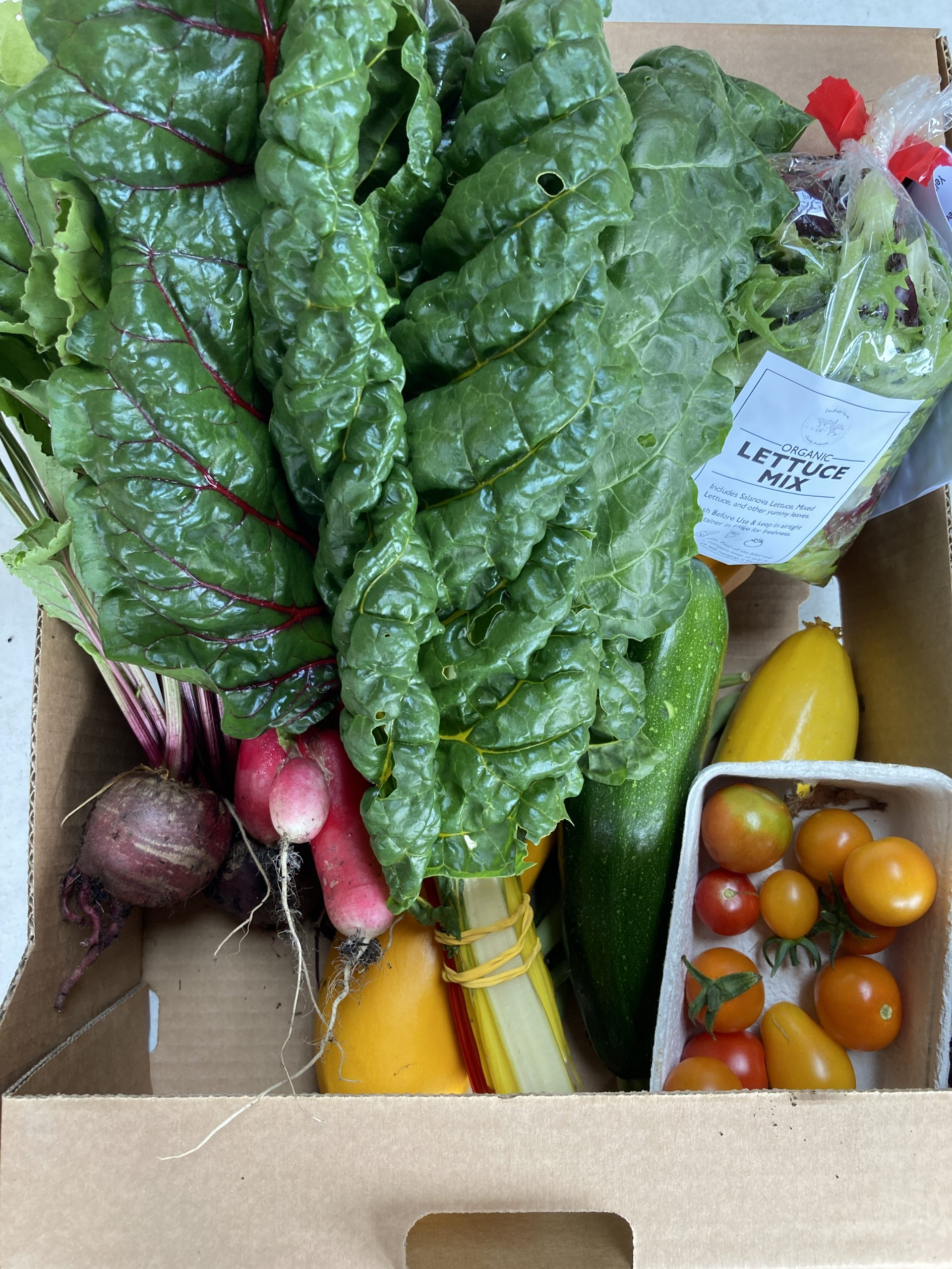 Fanfield Farm Veg Box 5