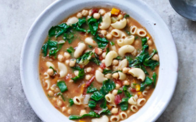 Recipe: Hearty Chickpea & Chard Soup