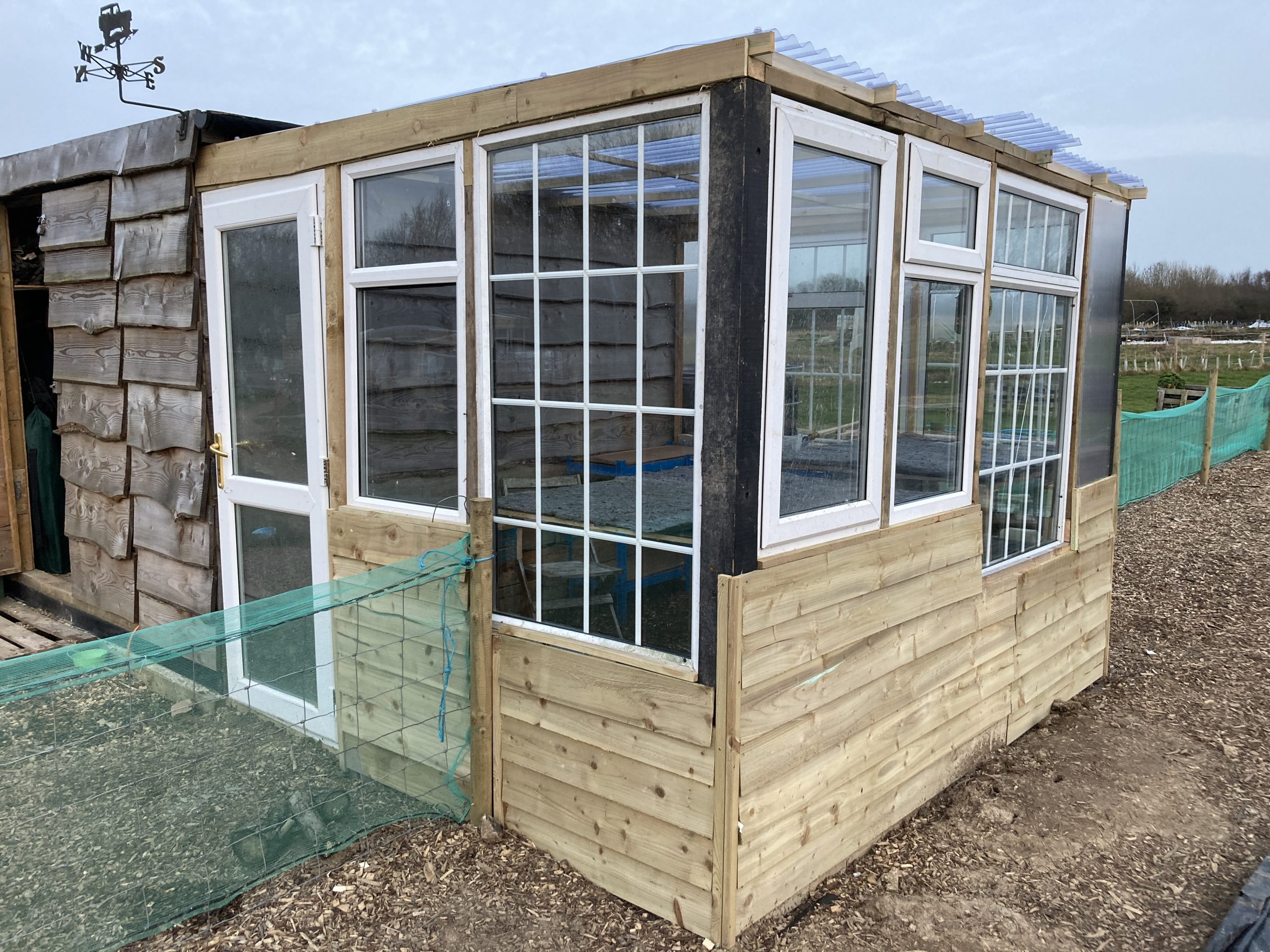 Upcycled Greenhouse Self Build