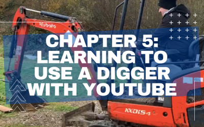 5.) Learning to use a Digger with YouTube